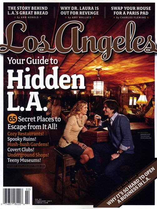 Los Angeles Magazine-Hillden L.A. Cover 02/2011