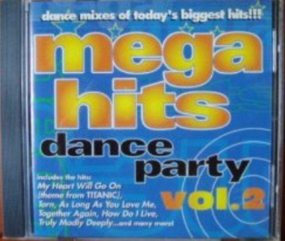Mega Hits Dance Party Vol. 2 cd - Various Artists