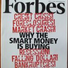 "FORBES MAGAZINE 04/21/2008 ""Why The Smart is Buying"" issue"