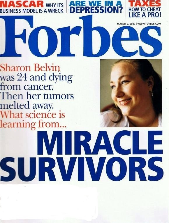 """FORBES MAGAZINE 03/02/2009 """"Miracle Survivors"""" issue"""