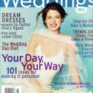 Weddings In Style Magazine-Debra Messing Cover 04/2000