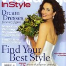 Weddings In Style Magazine-Andie MacDowell Cover 03/2002