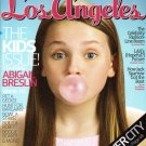 Los Angeles Magazine-Abigail Breslin Cover 06/2008 issue