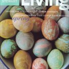 Martha Stewart Living Magazine-April 2003 issue