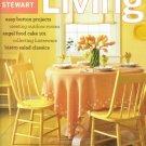 Martha Stewart Living Magazine-May 2003 issue