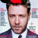 GQ Magazine-Russell Crowe Cover 03/2005 issue
