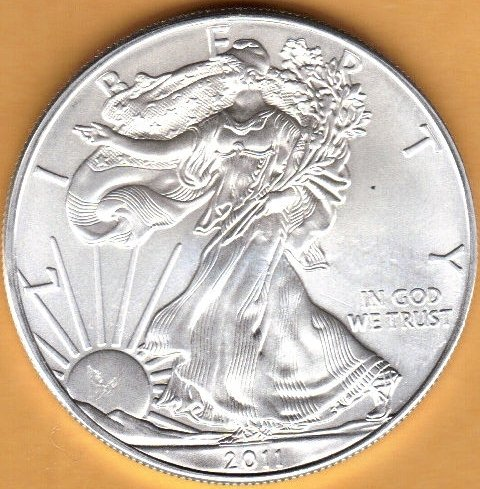 2011 American Eagle Silver Coin 1oz - Brand New