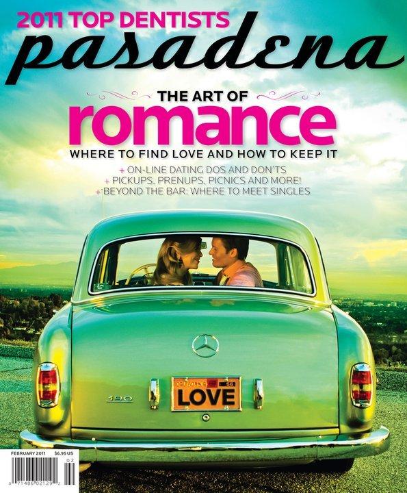Pasadena Magazine-The Art of Romance February 2011 issue