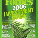 FORBES MAGAZINE 12/12/2005&quot;2006 Investment Guide&quot; issue