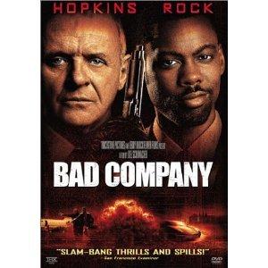 Bad Company DvD starring Anthony Hopkins & Chris Rock