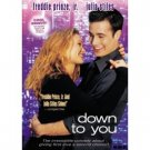 Down to You DvD starring Freddie Prinze Jr & Julia Stiles
