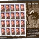 USA James Cagney 33 cents stamp sheet (20 stamps)