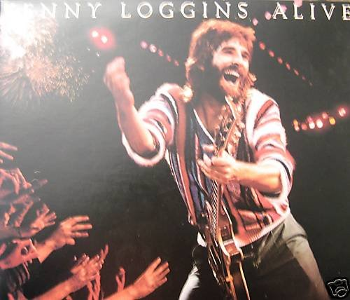 "KENNY LOGGINS (2) LP ""Alive"" 1980 (Columbia 36738)"