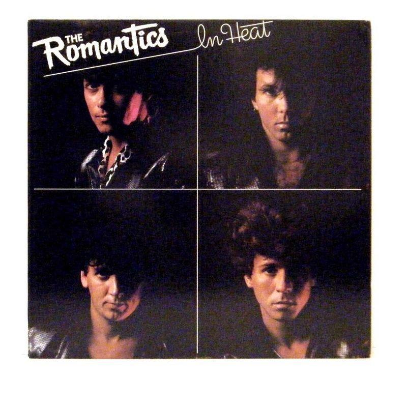 THE ROMANTICS LP In Heat 1983 Nemperor