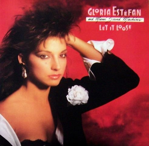 "Gloria Esteban & Miami Sound Machine ""Let it Loose"" LP"