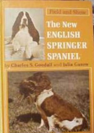 1974 Book The New English Springer Spaniel (hardcover)