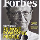 FORBES MAGAZINE 11/21/22 - 70 Most Powerful People issue