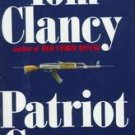 Patriot Games by  Tom Clancy 1st edition (Hardcover)