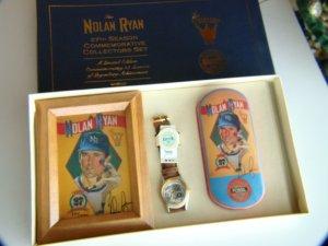 Nolan Ryan 27th Season Commemorative Watch Collectors Set