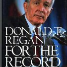 For the Record by Donald Regan (1st edition hardcover)