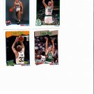 4 Assorted Larry Bird NBA Hoops Basketball Cards