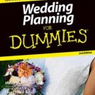 Wedding Planning For Dummies by Marcy Blum 2nd Edition