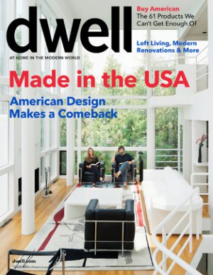 Dwell Magazine - Made in the USA - 10/2011 issue