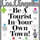 LOS ANGELES MAGAZINE-Be a Tourist 12/2011 issue