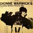 Dionne Warwick's Greatest Motion Picture Hits  LP - 1969