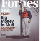 "FORBES MAGAZINE 11/2/09 ""Big Money in Mud"" issue"