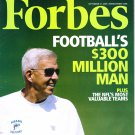 FORBES MAGAZINE 09/9/09-Football $300 Million Man issue