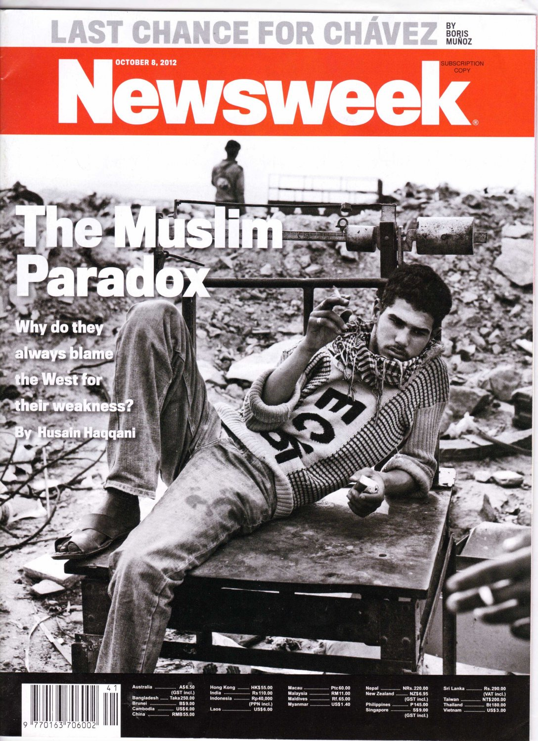 Buy newsweek magazine - Newsweek Magazine \&quot;The Muslim Paradox\&quot; Cover 10/8/2012