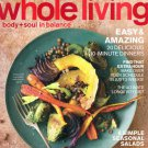 Whole Living Magazine-Easy & Amazing Dinners issue10/2011