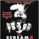 Scream 3 (DvD) starring Neve Campbell, Patick Dempsey