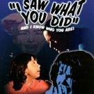 I Saw What You Did(DvD)starring Joan Crawford OOP