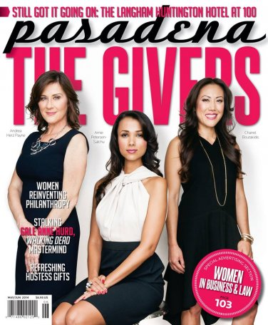 Pasadena Magazine - The Givers 05/06 - 2014 issue