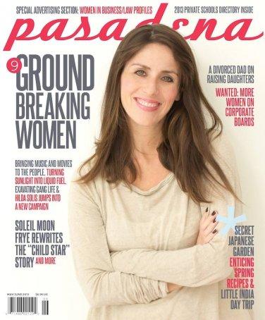 Pasadena Magazine Ground Breaking Women issue