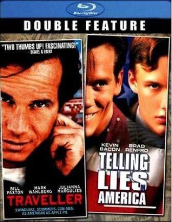 TRAVELLER/TELLING LIES IN AMERICA BLU-RAY