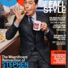 GQ Magazine-Stephen Colbert Cover 09/2015