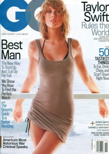GQ Magazine - Taylor Swift Cover 11/2015