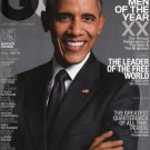 GQ Magazine - Barack Obama Cover 12/2015