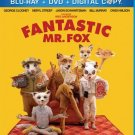 The Fantastic Mr. Fox (Blu-ray, 3-Disc Set)