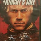 A Knight's Tale DvD starring Heath Ledger, Mark Addy and Rufus Sewell