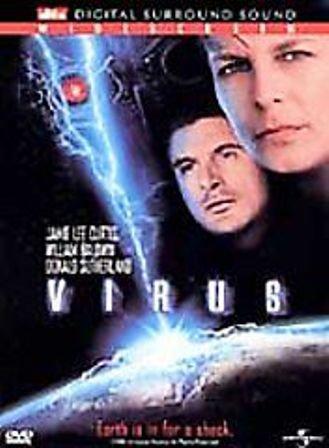 Virus DvD starring Jamie Lee Curtis, Donald Sutherland & William Baldwin