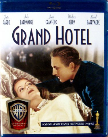 Grand Hotel (Blu-ray) Greta Garbo, John Barrymore, Joan Crawford