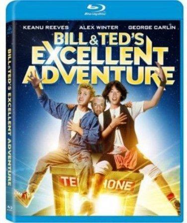 Bill & Ted's Excellent Adventure (Blu-ray) Keannu Reeves & George Carlin