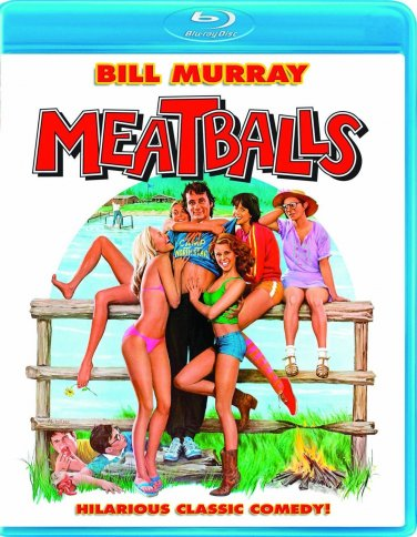 Meatballs (Blu-ray) starring Bill Murray, Harvey Atkin, Kate Lynch