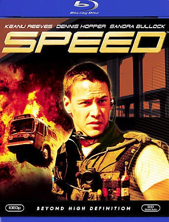 Speed (Blu-ray) starring Keanu Reeves, Dennis Hopper & Sandra Bullock
