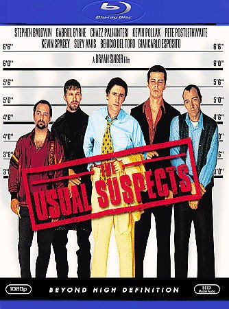 The Usual Suspects (Blu-ray) Kevin Spacey, Benicio Del Toro, Gabriel Byrne