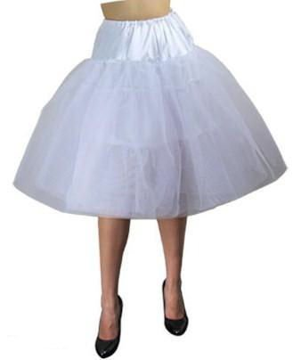 LONG Petticoat skirt WHITE or BLACK 1X 2X 3X 4X 5X